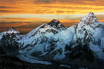 Everest Sunset