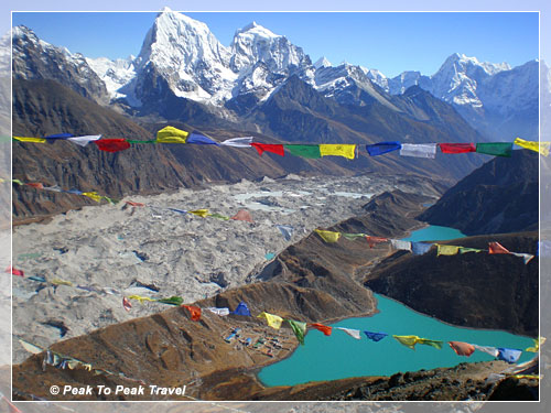 View from Gokyo RI (17,250 ft)